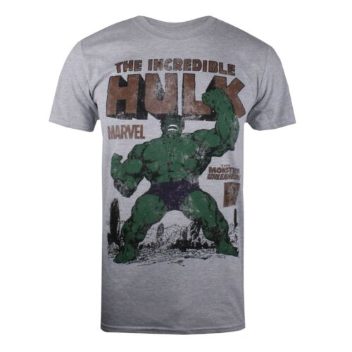Sizes S-XXL Official Licensed Marvel The Incredible Hulk Rage Men/'s T-Shirt