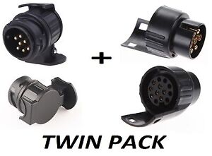 13-to-7-Pin-amp-7-to-13-Pin-Trailer-Electric-Converter-Tow-Bar-Plug-Adaptor-Socket