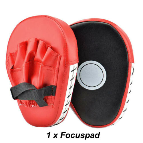 Curved Focus Pad Mitt,Hook and Jab Punching Training Kick Boxing Muay Thai MMA