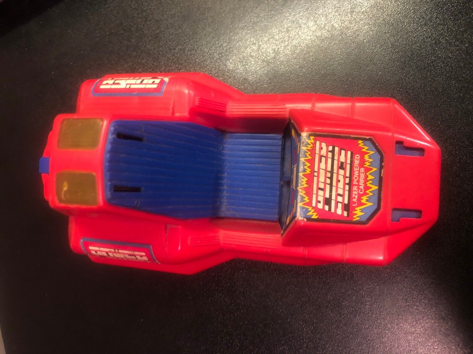 Vintage Zima Toys Power Force Force Force Lazer Powered Carrier Nice Condition PowerForce 89162c