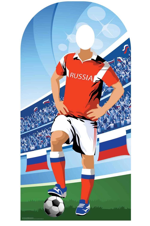 Weltcup 2018 Russland Fußball Pappfigur Stand-In - cherchesov Akinfeev   Spielzeug mit kindlichen Herzen herstellen    Heißer Verkauf