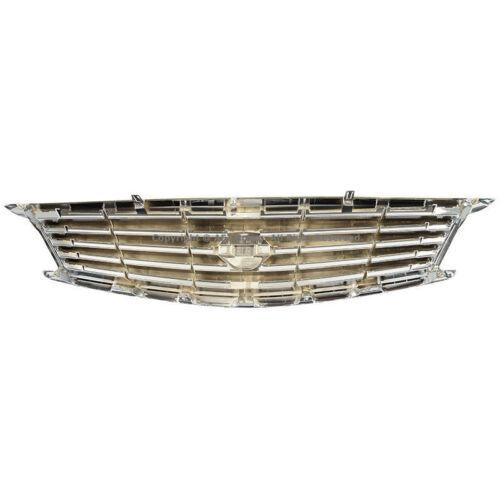 Chrome Front Bumper Hood Grille For Infiniti 10-13 G37 11-12 G25 2015 Q40 Sedan