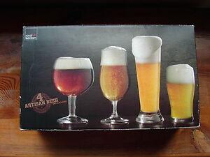 Royal-Leerdam-Netherlands-Artisan-Beer-Glass-x-4