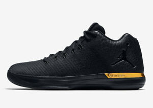 Nike Air Jordan 31 Low Black Gold Size 15. 897564-023 | eBay