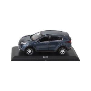 KIA-Sportage-QL-Modellauto-Sammlermodell-1-38-Planetenblau-Metallic