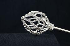 Scepter Wand Quince15 Años Sweet Sixteen Wedding Bridal Rhinestone Crystal Cetro
