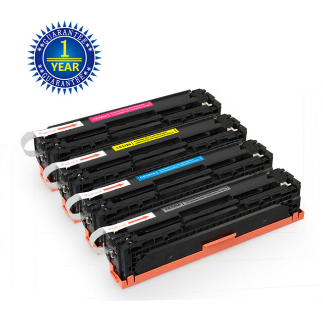 23A 128A Color Toner For HP LaserJet Pro CM1415FNW CP1525NW Set of 4 PK CE320A