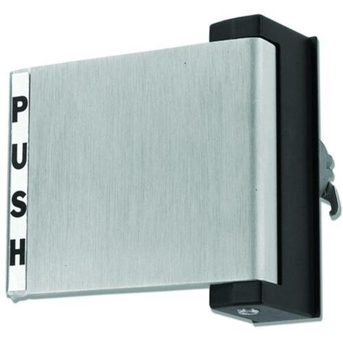 Aluminum Store Front Door Push or Pull Handle Paddle TH1100-PUSH-AL-LH