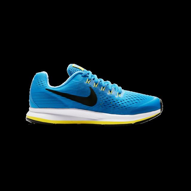 Nike Zoom Pegasus 34 GS Blue Black Kids Running Shoes SNEAKERS 881954-401 7  Y fb2eb0fb0198