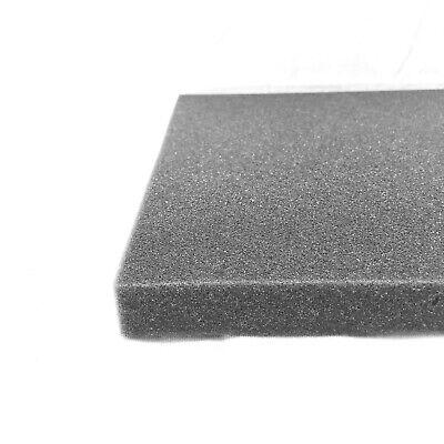 1 piece FLAT Appalachian Tough™ Gun Case Foam Pre-cut 12 x 12 x 1 inch 1 in