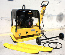 Reversible Dirt Vibratory Plate Compactor Rammer With 420cc 14hp Gas Power Engine