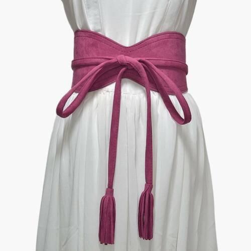 Women Wide Bow Belt Long Strap Bow Corset Waistband Wedding Dress Waist Belt