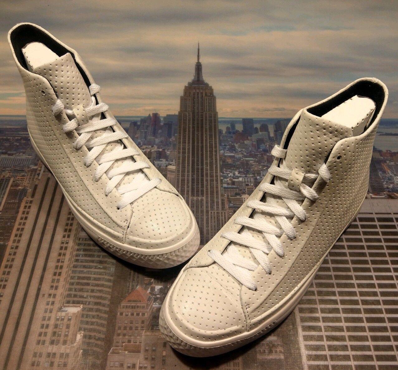 Converse Chuck Taylor Star moderno Hi High Top All blancoo Talla 7.5 157477c Nuevo