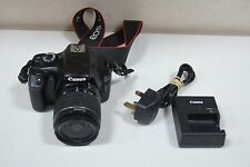 Canon EOS 1100D 18.0MP Digital SLR Camera - With 18-55mm Lens SHUTTER COUNT 1702