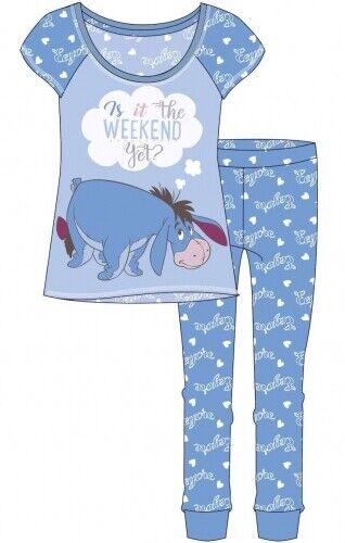 """Femmes Disney /""""Bourriquet.. loisirs//Pyjama Set est-ce Week-end encore"""