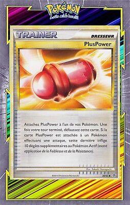 CARTE POKEMON FRANCAISE NEUVE DECHAINEMENT HOLO INV N°  80//95 PLUSPOWER