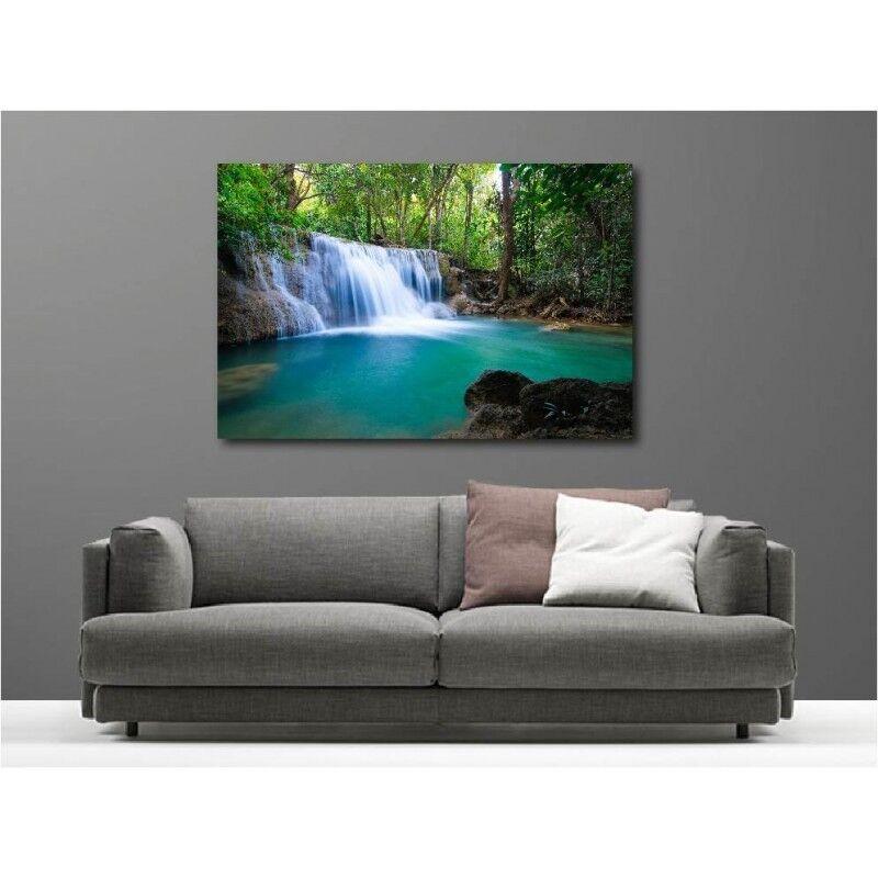 Cuadro tela decoración rectangular cascade 60609652