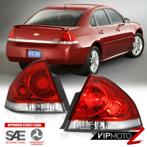 left right 2006 2013 chevy impala factory style red tail lights image is loading left right 2006 2013 chevy impala factory style