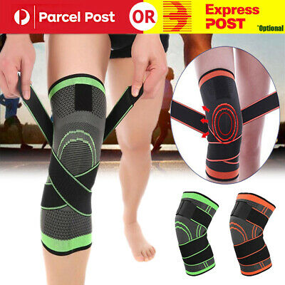 Knee Brace Support Breathable for Running Jogging Sports Sleeve Pad