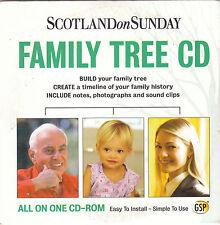 PROMO CD  Family Tree CD - Scotland On Sunday