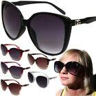 Womens DG Oversized Cat Eye Fashion Sunglasses Designer Style Shades