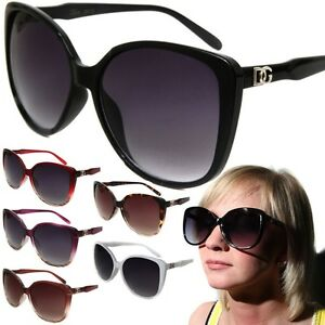 07c63d0005d3 Image is loading Womens-DG-Oversized-Cat-Eye-Fashion-Sunglasses-Designer-