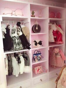 Fashion royalty 1:6 scale Dolls furniture sideboard kitchen cabinet