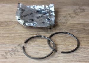 LAMBRETTA NOS 175 cc PISTON RINGS x 2-62 mm x 2 mm THICK or STANDARD