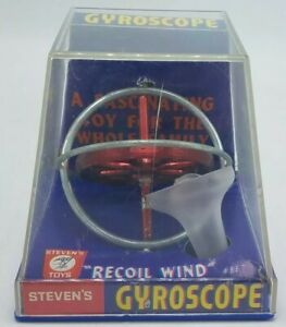 Vintage-Steven-039-s-1969-Gyroscope-No-957-Original-Box-Excellent