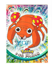 1999 TOPPS SERIES 1 POKEMON TV ANIMATION EDITION CARD # 46 PARAS