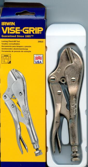"Irwin Vise-Grip RR Locking plier Pinch Off Tool 7/"""