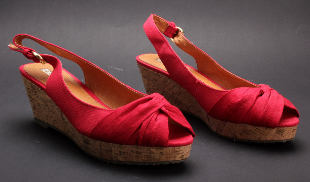 Buffalo Pumps 311-2989 Canvas Red