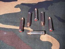 357 MAGNUM SNAP CAPS  SET OF 6 (NICKEL)