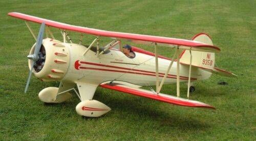 1/6 Scale WACO YMF-3 Giant Scale RC AIrplane Printed Plans