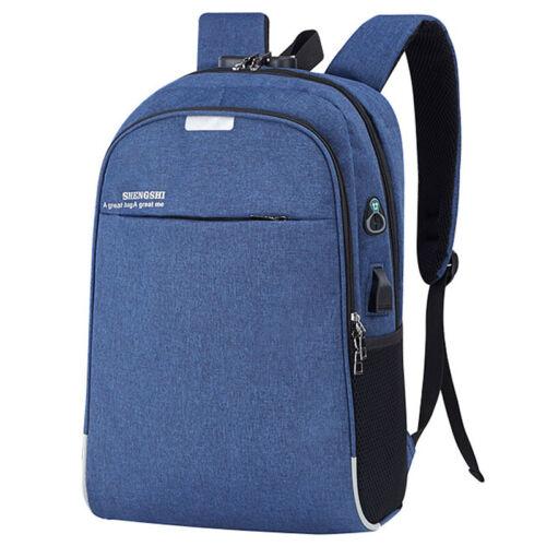 Herren Schulrucksack Sport Tasche Laptop Backpack Reisen Wandern Arbeit Taschen