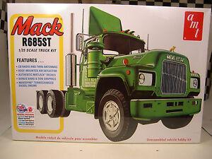 amt plastic model truck kits