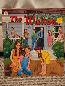 Vintage 1975 Whitman - The Waltons - A Sticker Book - #1691 - NEW