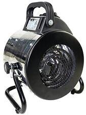 Heater Electric Portable Garage Workshop Space Heaters Home Heating 1500Watt