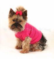 M Bright Pink Short Sleeved Dog T - Shirt Clothes Pet Apparel Medium Pc Dog®