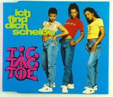 Maxi CD - Tic Tac Toe  - Ich Find' Dich Scheiße - A4492