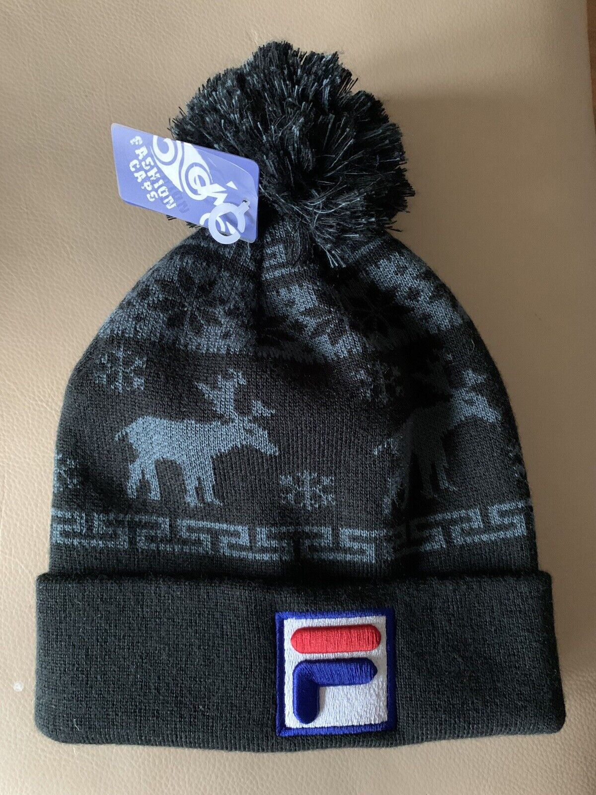 ❤️☠️🎥 Mütze Beanie Strickmütze Cap Sport Style FILA Qualität