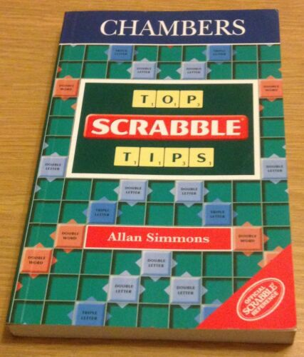 1 of 1 - CHAMBERS TOP SCRABBLE TIPS Allan Simmons Book (Paperback)