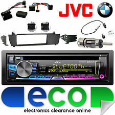 BMW X3 E83 2003 - 2010 JVC CD MP3 USB Bluetooth Car Radio Steering Interface Kit
