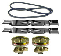 John Deere Scotts 42 Mower Deck Rebuild Kit Spindles Blades Belt Free Shipping