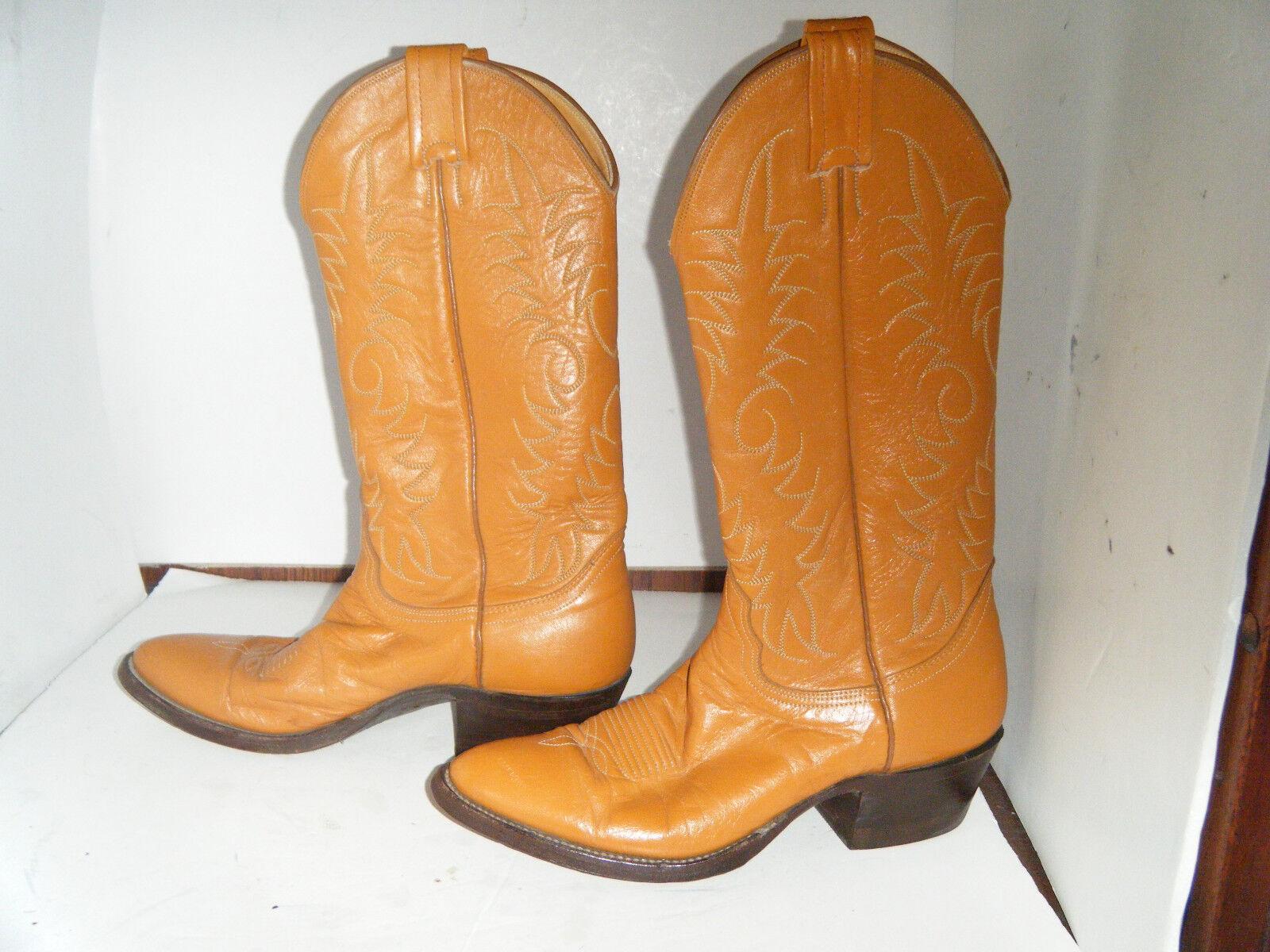 NOCONA Cowboy Size 6.5 B Uomo Brown