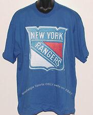 Vintage 90's New York NY Rangers T-Shirt Pro Player NHL Hockey NWT New Old Stock