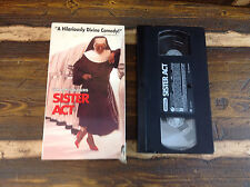 Sister Act Whoopi Goldberg VHS