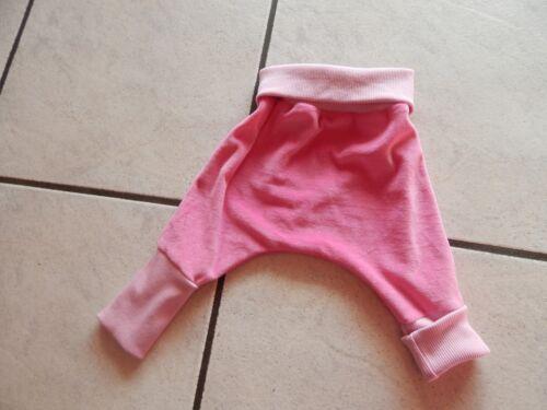 Pumphose aus Nicki  pink in verschiedenen Größen Mitwachshose