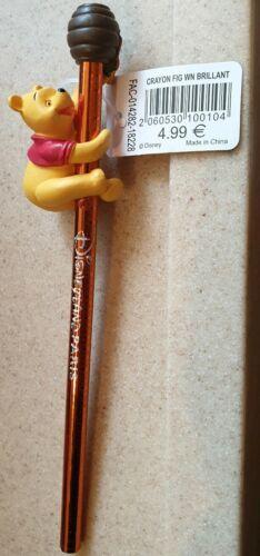 CRAYON FIGURINE WINNIE BRILLANT Disneyland Paris
