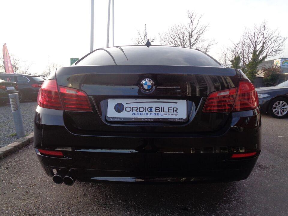BMW 520d 2,0 aut. Diesel aut. Automatgear modelår 2016 km
